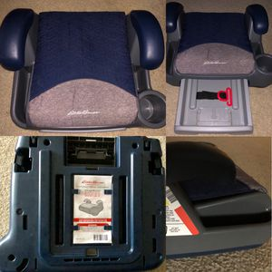 New EDDIE BAUER Toddler Car Booster Seat • Child Safety Chair for Sale in Washington, DC