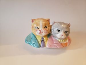 Cute cat couple head display. DYI Project. for Sale in Plainville, CT