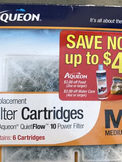 Aqueon Aquarium Filter Cartridges Medium ($7) for Sale in Los Angeles,  CA