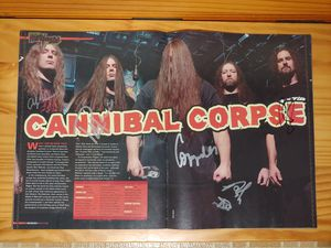 Signed Cannibal Corpse Program for Sale in Temple Terrace, FL