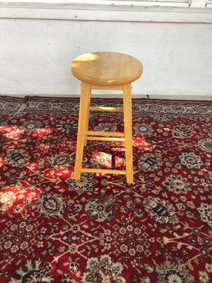 Single Wooden Stool for Sale in Los Angeles, CA