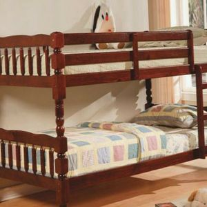 Bunk bed Twin Twin with Mattresses for Sale in Decatur, GA