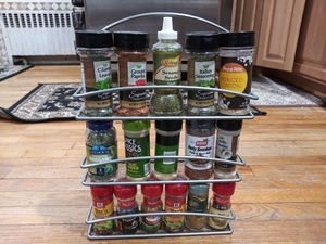 Spice rack and porcelain storage containers CHEAP!!!!! for Sale in Clifton, NJ