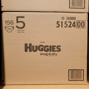 Huggies Snug And Dry Size 5 Diapers for Sale in Fountain Valley, CA