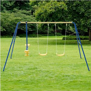 Metal A frame swing set for kids 4 seater for Sale in Alta Loma, CA