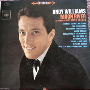 "Andy Williams ""Moon River"" Vinyl Album $10 for Sale in Ringgold, GA"