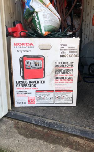 Honda generator brand new in box for Sale in Chicago, IL