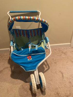 American girl duel stroller for Sale in Hamilton, OH