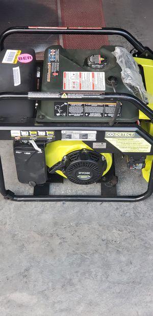 Ryobi Generator for Sale in Jacksonville, NC