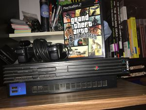 Ps2 with controller and game for Sale in Riverside, CA