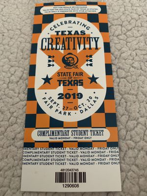 State fair ticket for Sale in Lewisville, TX