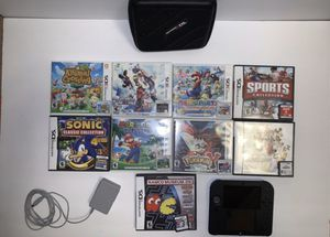 Nintendo 2DS with games, charger & case for Sale in Naperville, IL