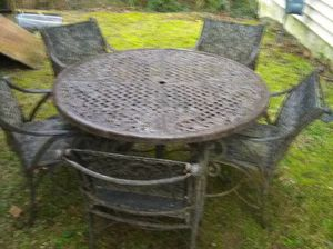 Patio furniture steel for Sale in Norcross, GA