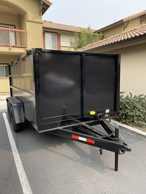 2020 Dump trailer New And made in CA for Sale in North Las Vegas, NV