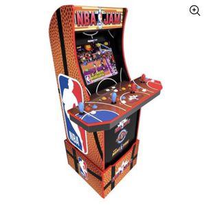 NBA Jam Arcade Machine w/ WiFi, Arcade1Up for Sale in Pennsauken Township, NJ