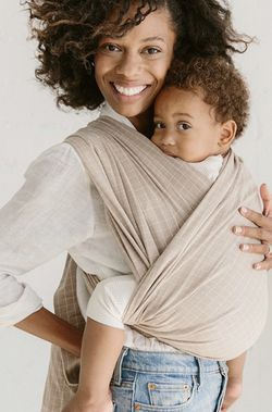 Solly Baby - LOOP CARRIER - CREAMY GRID for Sale in Seattle,  WA