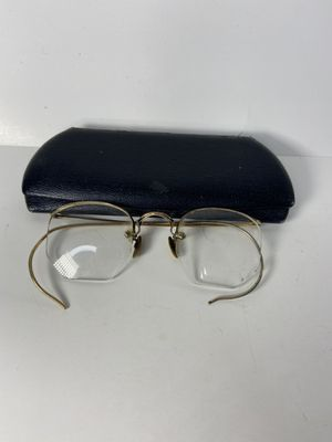 Antique 12 k gold filled glasses with case for Sale in Oceanside, NY