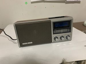 General Electric Hi Fi Am Fm Clock Gray Radio 7-4691A Good Sound VTG Rare for Sale in Prospect Heights, IL