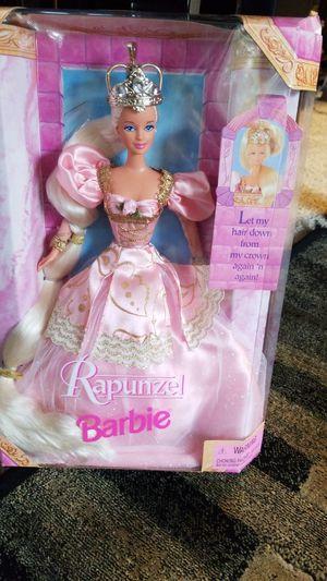NIB BARBIE: Rapunzel for Sale in Lake Hallie, WI