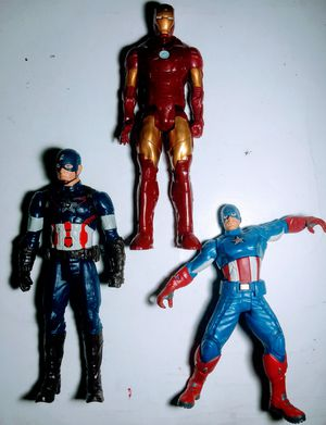 "3 Marvel 11"" Action Figures from the 2000s for Sale in Manchester, NH"