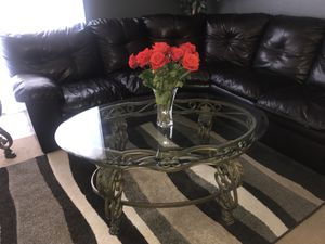 Living room tables, dishes, Oakley sunglasses for Sale in Phoenix, AZ
