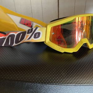 Motorcycle 💯% Goggles For ATV - Dirk Bike- UTV - Quad for Sale in Chino, CA