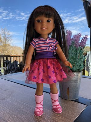 American Girl Doll Wellie Wisher with Outfit for Sale in Nolensville, TN
