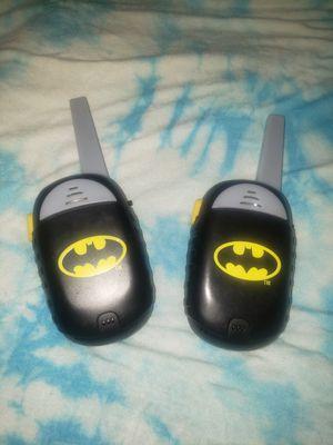 Batman Walkie Talkies for Sale in Moreno Valley, CA