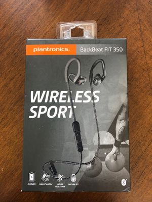 New wireless noise isolation sport headphones for Sale in Fontana, CA