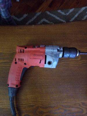"""Milwaukee 1/2"""" drill corded for Sale in Evansville, IN"""