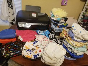 110 Cloth diapers plus some inserts for Sale in San Antonio, TX