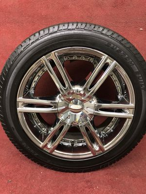 Diamo rims on vogue tires for Sale in Portland, OR