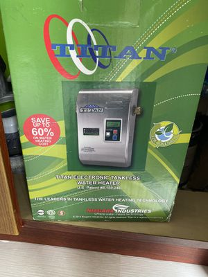 Titan electronic tankless water heater for Sale in Miami, FL