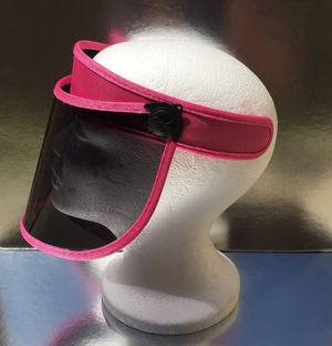Pink tinted visor face shield for Sale in Diamond Bar, CA