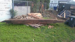 2X12 OLD GROWTHTIMBER BOARDS(some are 15' long) for Sale in Tacoma, WA