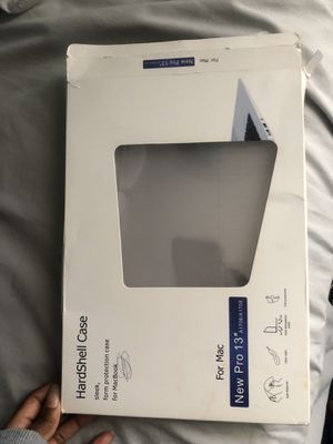 """Mac book 13"""" pro hard shell case for Sale in Raleigh, NC"""