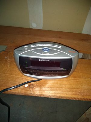 Emerson clock radio for Sale in San Jose, CA