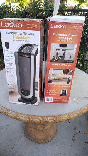 NEW LASKO TOWER HEATER ROTATE WITH REMOTE CONTROL for Sale in Los Angeles, CA