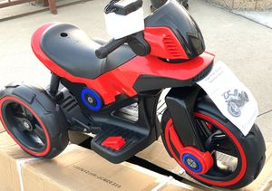 BRAND NEW Red Motorcycle electric kid ride on car power wheels for Sale in Long Beach, CA