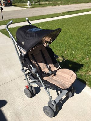 Maclaren Premium Stroller Techno xlr . Imported from Europe. for Sale in Hastings, MI