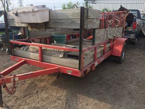 2001 u.s cargo landscape trailer 6X12.5. 3,5 tong for Sale in Addison, IL