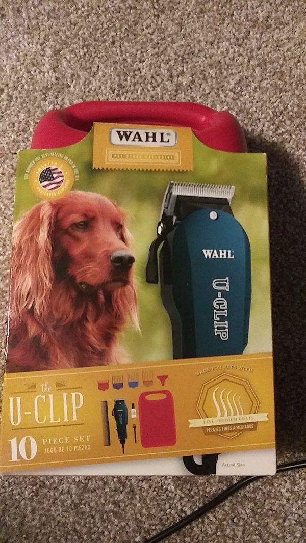 Pet Clipper Kit - WAHL U-CLIP