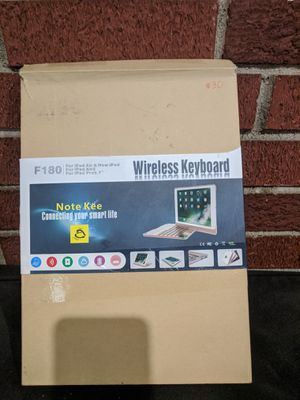 Wireless keyboard for iPad air, air2,pro9.7 for Sale in Columbus, OH