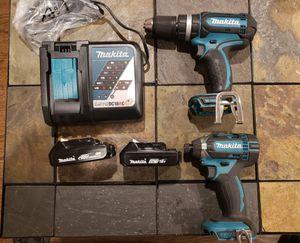 Makita Hammer Drill and Impact Driver for Sale in Manassas, VA