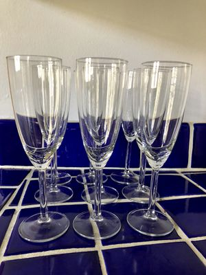 9 champagne glasses for Sale in Beverly Hills, CA