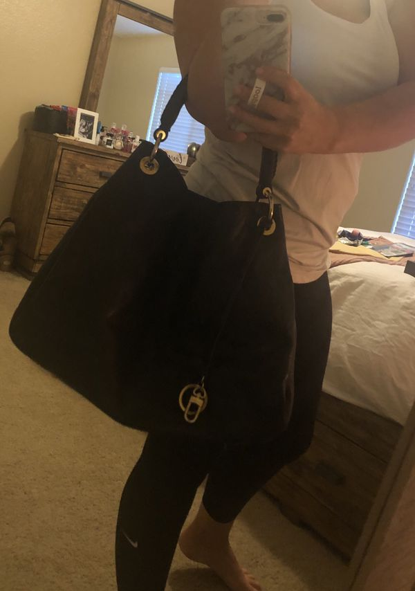 Louis Vuitton band bag and wallet!