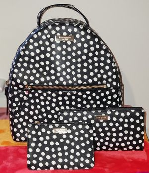 Kate spade polka dot back pack/wallet for Sale in Round Hill, VA