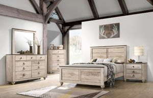 New Queen Size Bedroom set 5pc for Sale in Puyallup, WA