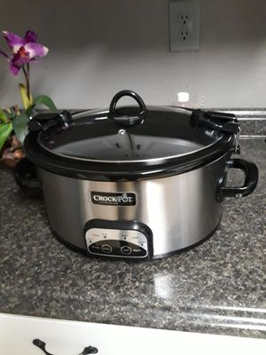 THE ORIGINAL CROCK POT 6 QT for Sale in Fort Worth, TX