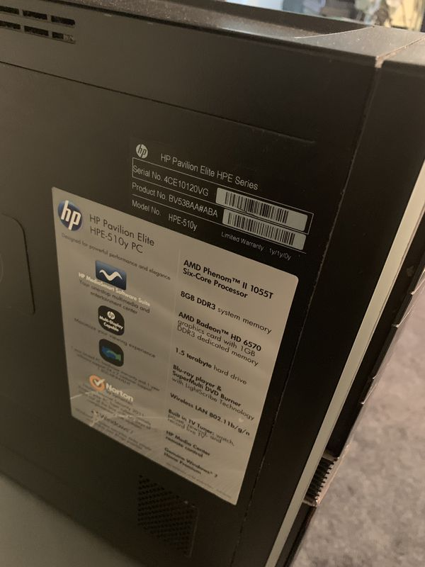 HP pavilion elite HPE 510 Y PC for Sale in Chicago, IL - OfferUp